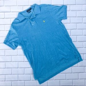 Ralph Lauren Men's Short Sleeved Terry Cloth Polo